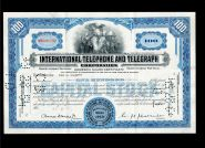 Акция США - International Telephone And Telegraph Corporation