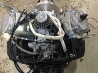 Двигатель на снегоход Буран мощностью 35 л.с., объем 690 куб/см, двухцилиндровый, 4-х тактный с электростартером