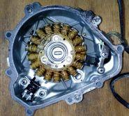 Статор генератора (обмотка) Kawasaki KLX250