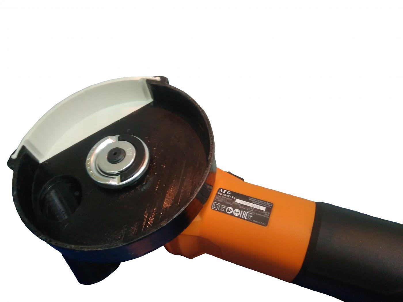 Пылеотводящий кожух для УШМ AEG AVA 125A-1