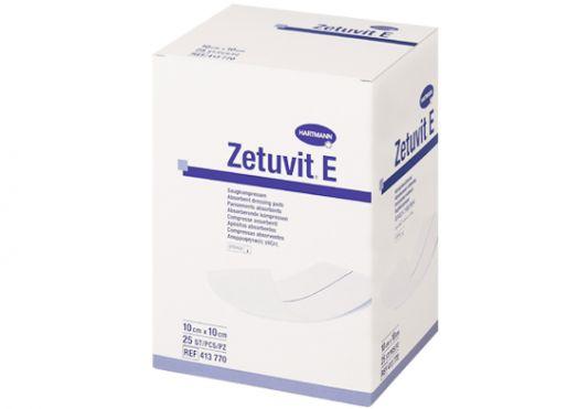 Цетувит Е (Zetuvit Е), стерильная сорбционная повязка, 10 х 10 см