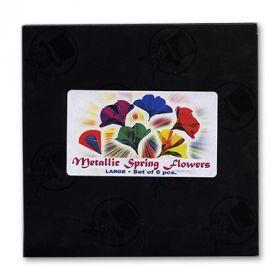 """""""Весенние цветы"""" Metallic Spring Flowers (большие, 6 штt) by Vincenzo Di Fatta"""