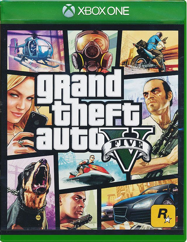 Grand Theft Auto V Xbox One, (русские субтитры)