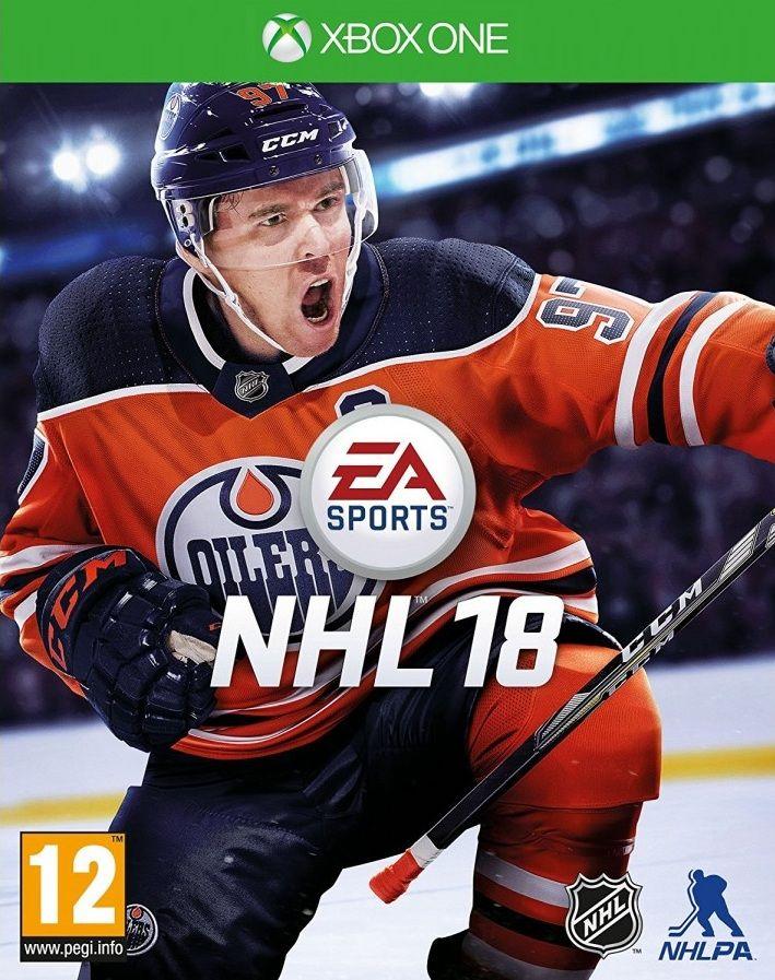 NHL 18 Xbox One, (русские субтитры)