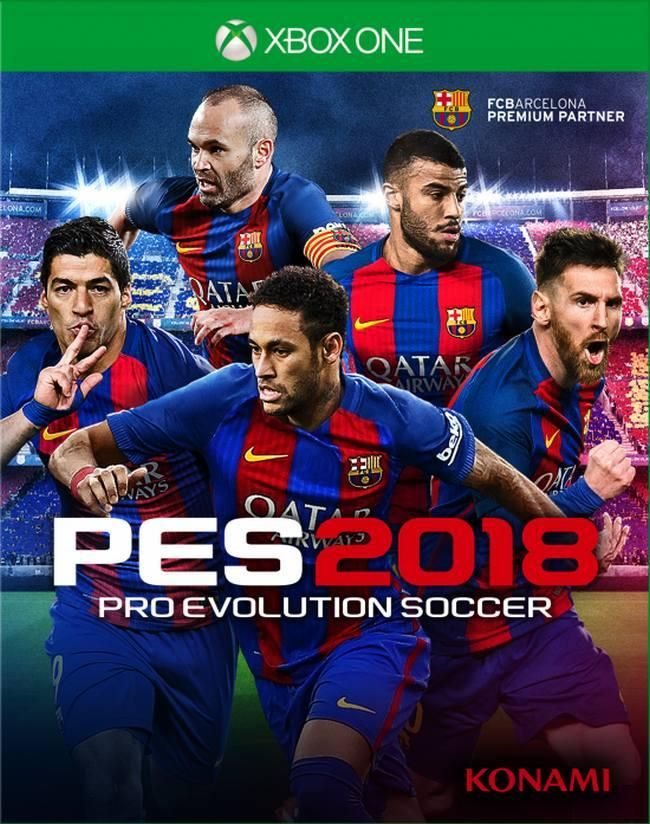 Pro Evolution Soccer 2018 Xbox One, (русские субтитры)