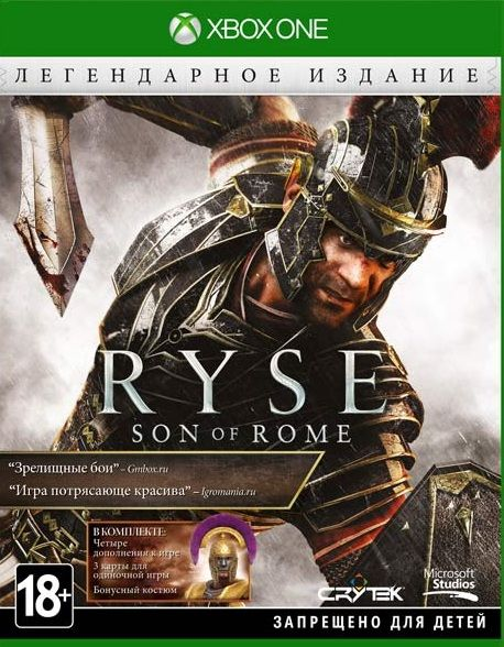 Ryse: Son of Rome - Legendary Edition Xbox One, (русская версия)