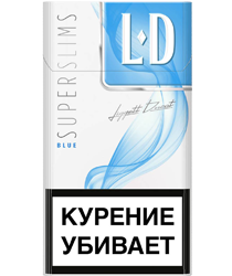 Сигареты LD BLUE SUPERSLIMS