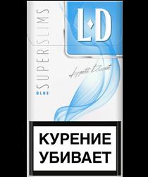 Сигареты LD BLUE SUPERSLIMS
