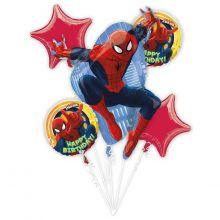 Набор гелиевых фольгированных шаров Человек Паук