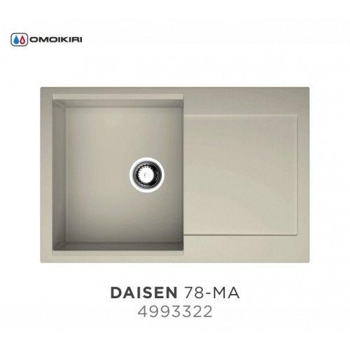 Кухонная мойка Omoikiri Daisen 78 марципан 4993322