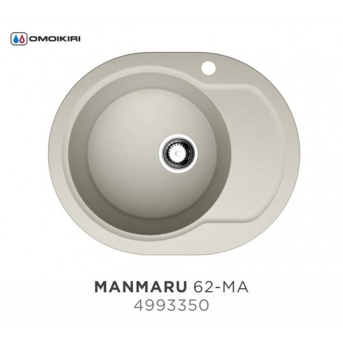 Кухонная мойка Omoikiri Manmaru 62-MA 4993350
