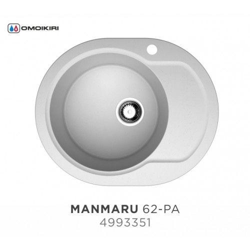 Кухонная мойка Omoikiri Manmaru 62-PA 4993351