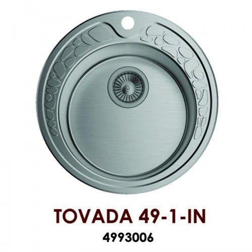 Кухонная мойка Omoikiri Tovada 49-1-IN нерж.сталь/нержавеющая сталь 4993006