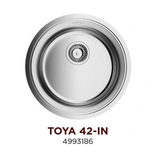 Кухонная мойка Omoikiri Toya 42-IN нерж.сталь/нержавеющая сталь 4993186