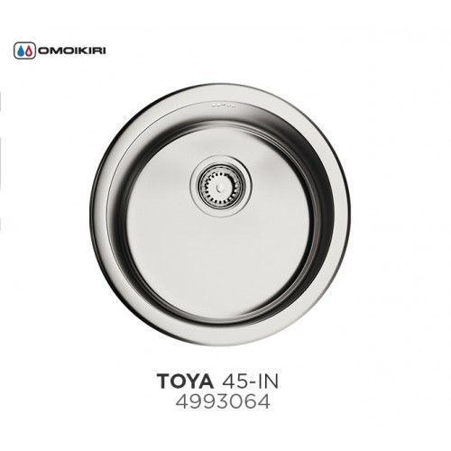 Кухонная мойка Omoikiri Toya 45-IN нерж.сталь/нержавеющая сталь 4993064