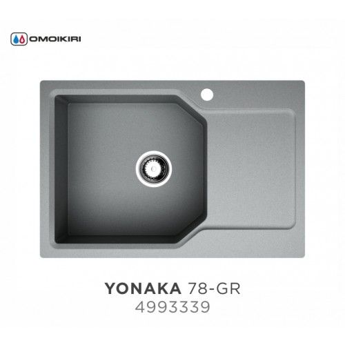 Кухонная мойка Omoikiri Yonaka 78-LB-GR 4993339