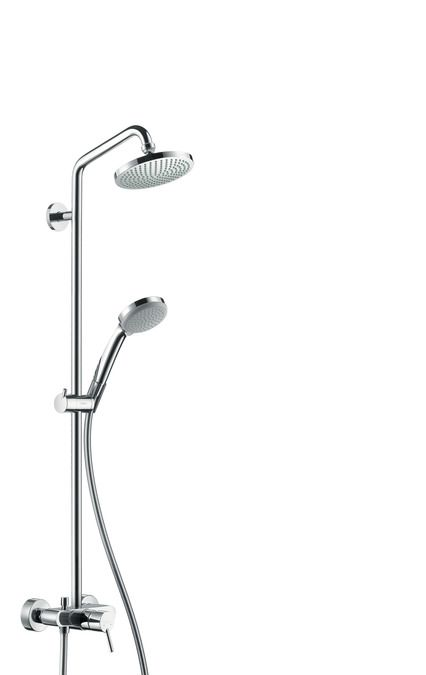Душевой комплект Hansgrohe Croma 100 Showerpipe 27154000