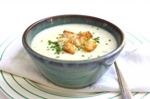Крем суп картофельный