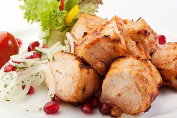 сочный шашлык из цыпленка Филе