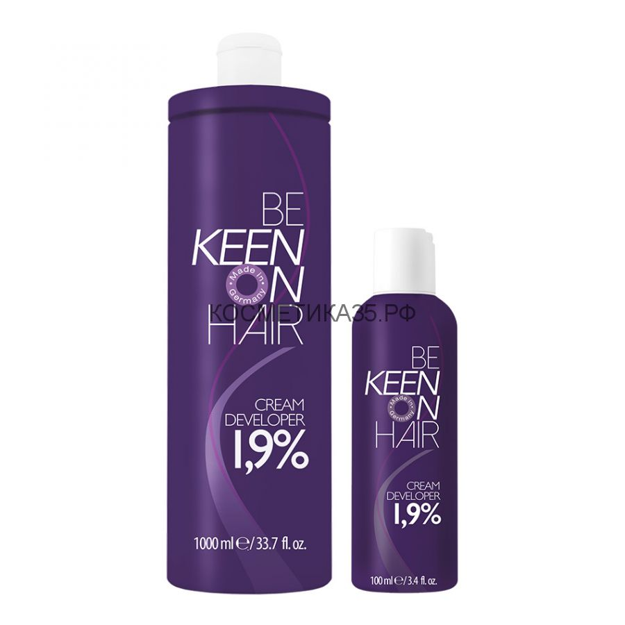 KEEN Крем-окислитель Colour Cream 3% Объём 100/1000 мл,
