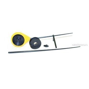 Балалайка Bravo fishing BL-Y  поликарбоновый хлыстик ( жёлтая)