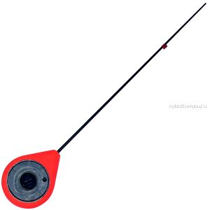 Балалайка Bravo fishing STFZ-R стеклопластиковый хлыстик ( красная)