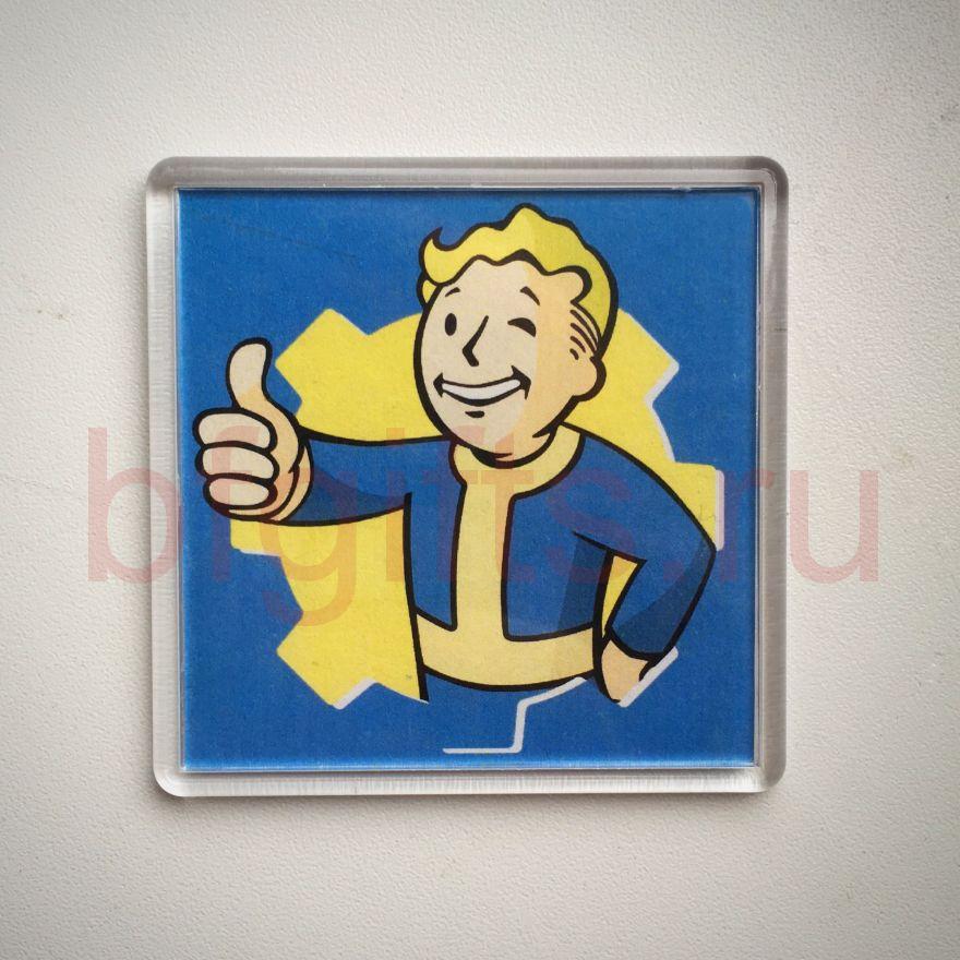 Магнит сувенирный Fallout