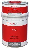 CarFit Акриловый грунт-наполнитель 4:1 серый 800мл. + 200гр.