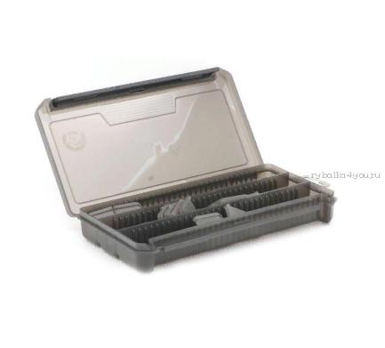 Коробка ТриКита для приманок КДП-2 дымка (230х115х35)