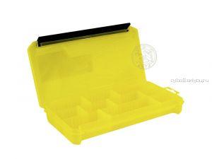 Коробка ТриКита для приманок КДП-2 жёлтая (230х115х35)