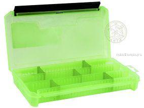 Купить Коробка ТриКита для приманок КДП-2 зелёная (230х115х35)