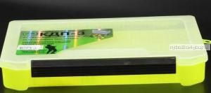 Коробка ТриКита для приманок КДП-3 жёлтая (270х175х40)
