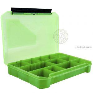 Коробка ТриКита для приманок КДП-3 зеленая (270х175х40)