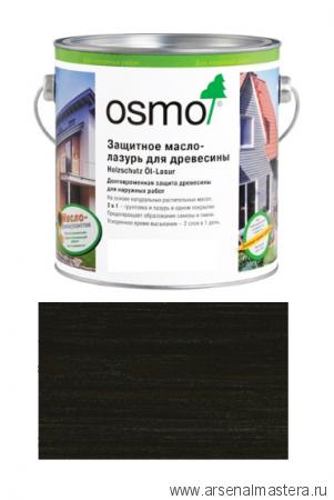 Защитное масло-лазурь для древесины для наружных работ OSMO 712 Holzschutz Ol-Lasur Венге 2,5 л