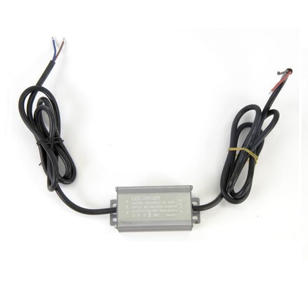Драйвер для светодиодов 20W 600mA корпусный