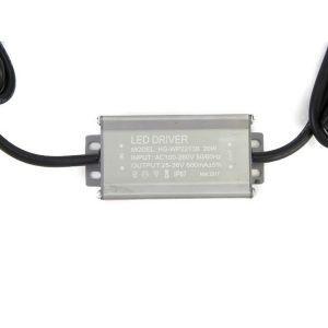 Драйвер для светодиодов 20W 600mA корпусной