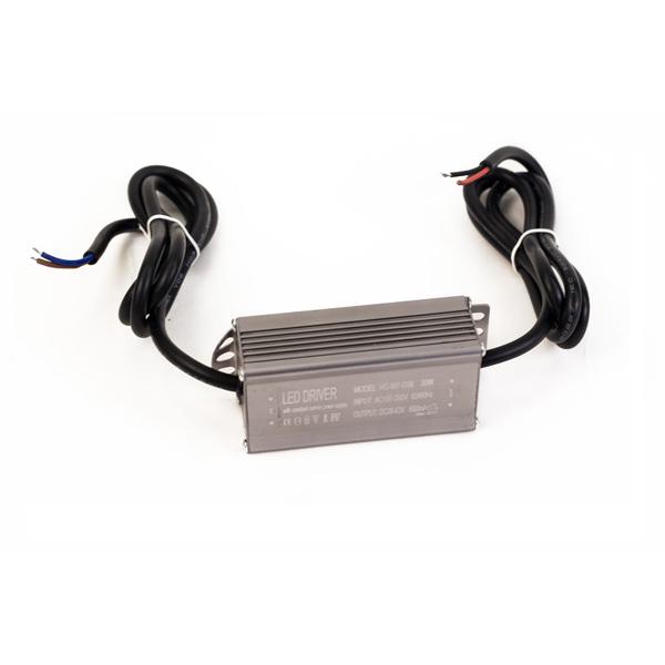 Драйвер для светодиодов 30W 600mA с проводами