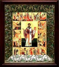 Ипатий Гангрский (21х24), киот со стразами