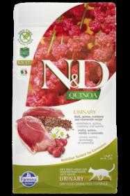 N&D Cat Quinoa Urinary Duck (Утка, киноа, клюква и ромашка. Профилактика мочекаменной болезни)