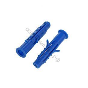 Дюбель распорный 6х60 шипы-усы (синий) уп/1000 шт.
