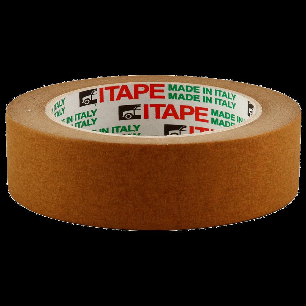 Isistem 40м х 30мм Малярная бум. лента GT Itape brown 80C, (упаковка 30 шт.)