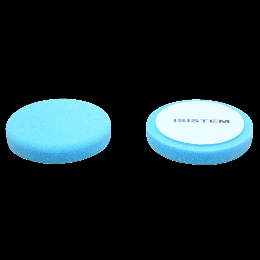 Isistem Полировальный круг из поролонa D80 mm T30 mm среднежесткий синий - ISISTEM Norma Blue