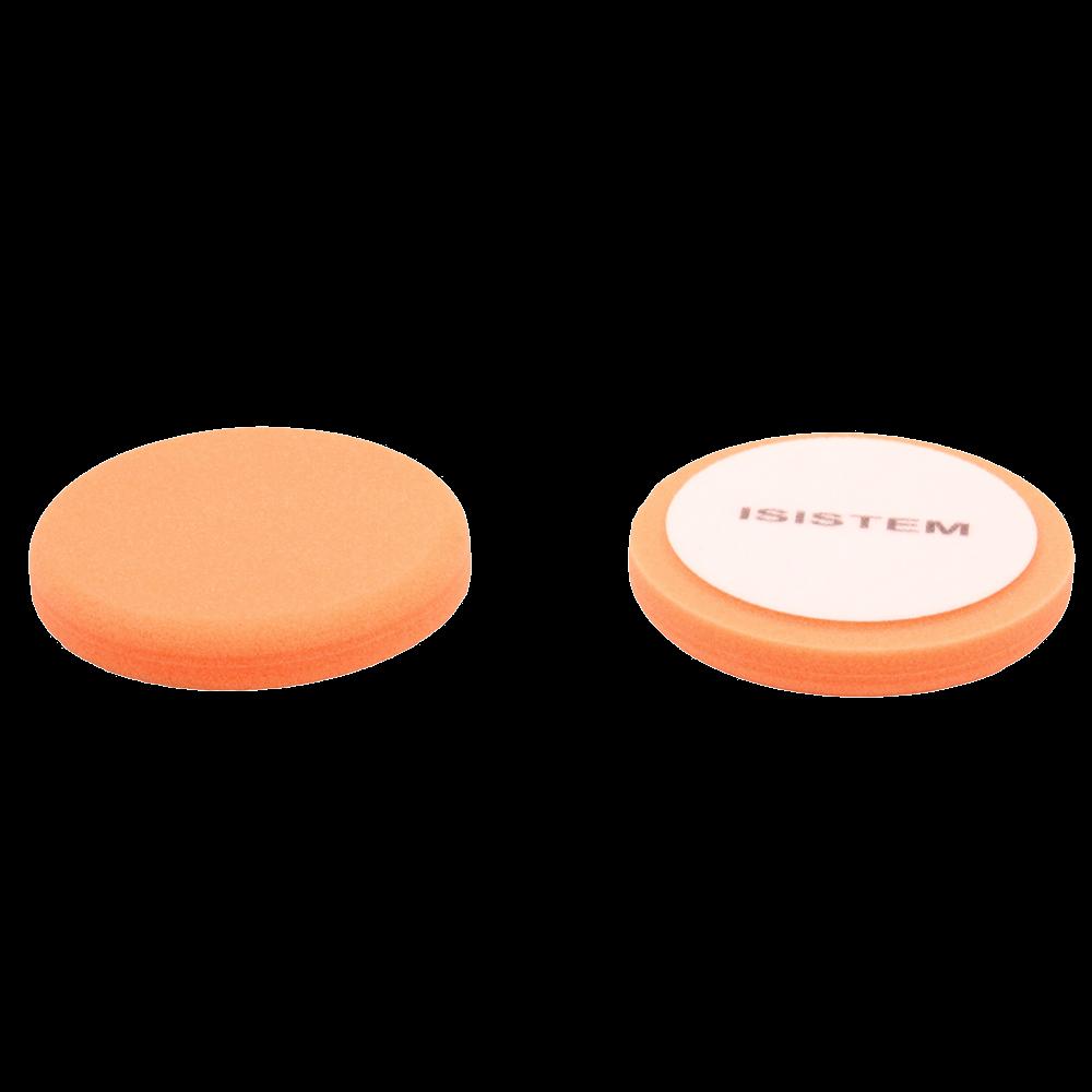 Isistem Полировальный круг из поролонa D 150 mm T 25 mm жесткий оранжевый ISISTEM Norma Orange