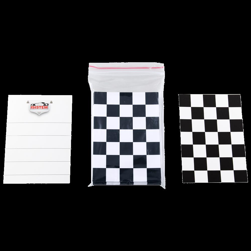 Isistem Тест-карта, (10см. х 14см.), комплект 50 шт., (упаковка 1 шт.)