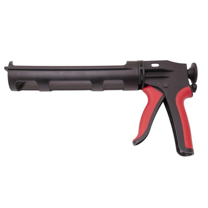 Isistem Механический пистолет для герметиков IGUN композит,поворот,полуоткр (картридж 310мл, сила1200Н, 10:1), (упаковка 1 шт.)