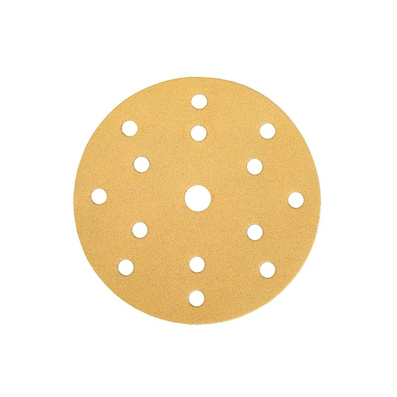 """Mirka GOLD. Абразивный круг на бумажной основе """"липучка"""" 150мм 15 отверстий P100"""