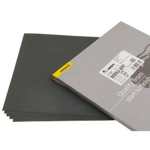 Mirka Водостойкая шлифовальная бумага WPF 230x280мм P220, (упаковка 50 шт.)