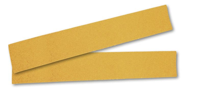 "Mirka GOLD. Абразивная полоска на бумажной основе ""липучка""  70x420мм без отверстий P80"