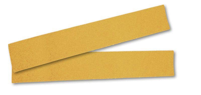 """Mirka GOLD. Абразивная полоска на бумажной основе """"липучка"""" 70x420мм без отверский  P120, (упаковка 100 шт.)"""