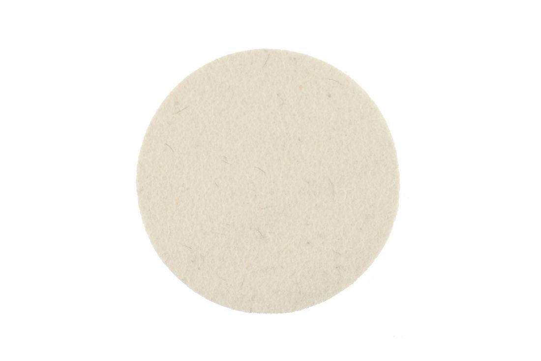 Mirka Фетровый полировальный диск 77*6мм.,белый, (упаковка 2 шт.)